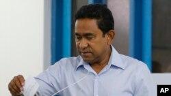 یمین عبدالقیوم رئیس جمهوری سابق مالدیو