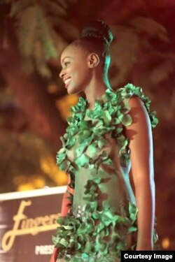 Miss Zimbabwe Africa, Ashley Morgan.
