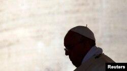 عکس آرشیوی از پاپ فرانسیس رهبر کاتولیک های جهان