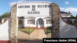 Sede do Governo do Distrito de Manica