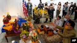 US Thailand Antiqueties Returned
