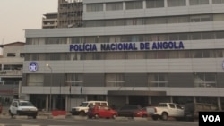 Bureau de la police nationale à Luanda, Angola, le 11 juin 2017.