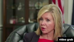 美國國會共和黨眾議員瑪莎·布萊克本.(視頻截圖)