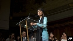 ທ່ານນາງ Aung San Suu Kyi ຜູ້ນໍາປະຊາທິປະໄຕຂອງ ມຽນມາ ຈະເດີນທາງມາຢ້ຽມຢາມ ສະຫະລັດ ອາເມຣິກາ ໃນເດືອນກັນຍາ ປີນີ້.