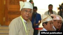 A New President for Burma
