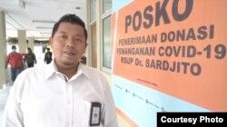 Humas RSUP dr Sardjito Yogyakarta Banu Hermawan. (Foto: Humas Sardjito)