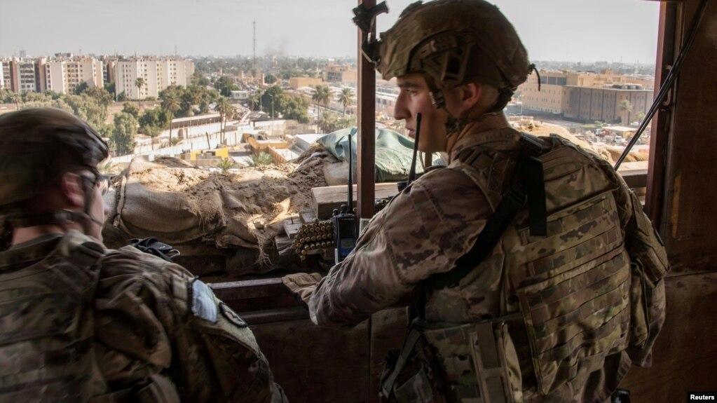 Koalicioni i udhëhequr nga SHBA hedh poshtë njoftimet për një sulm të ri në Irak
