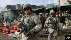 아프간 카불에서 작전을 수행중인 미군(자료사진)