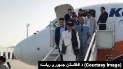رئیس جمهور دو پروژۀ برق را در بلخ افتتاح کرد