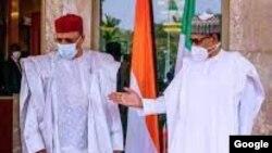 Buhari ya gana da Bazoum a Abuja