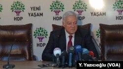 AKP'nin kurucularından Dengir Mir Mehmet Fırat bu kez HDP'den aday