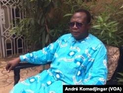 Dobian Assingar, représentant de la Fidh auprès de la Cemac à N'Djamena, le 4 juin 2018. (VOA/André Komadjingar).