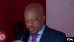 Vice-governador de Malanje Gabriel Pontes