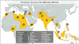 Protests Across the Muslim World