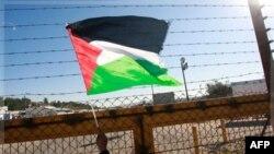 КПП, где Израилем были переданы палестинские заключенные.