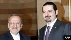 Манушер Моттаки и Саад Харири