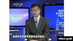 駱家輝大使參加CCTV討論