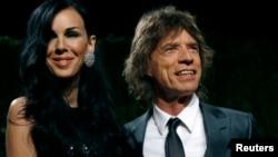 La diseñadora L'Wren Scott y Mick Jagger permanecieron juntos por más de diez años.