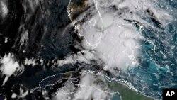 Satelitski snimak tropske oluje Gordon
