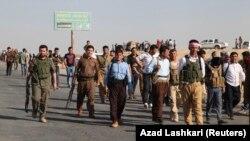 Pasukan Kurdi di Irak atau Peshmerga akan mendapat bantuan persenjataan dari Perancis (foto: dok).