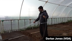 Bishar Ilci worked for ten years for Diyarbakir's local municipality in Turkey before losing his job, after pro-Kurdish HDP mayor was removed from office and jailed on terrorism charges. Now he has an organic farm.