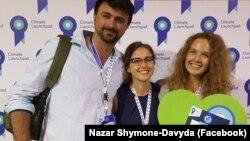 Співзасновники Go To-U - Назар Давида, Любов Артеменко та Єлена Артеменко
