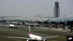 Bandara internasional Dubai, Uni Emirat Arab (foto; dok).