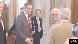 希臘新民主黨領導人薩馬拉斯