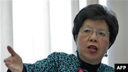 Bà Chan cho biết trong số những thành quả gây phần khởi nhất là vắc xin mới ngừa bệnh sưng màng óc