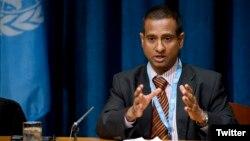 احمد شهید از سال ۲۰۱۱ گزارشگر ویژه حقوق بشر در ایران شده است.