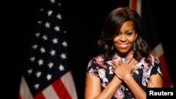 Đệ nhất phu nhân Mỹ Michelle Obama.