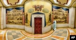 美国司法部长办公室入口