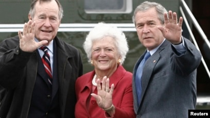 Former Us First Lady Barbara Bush In Failing Health