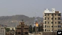 په یمن کې د حوثي یاغیانو په خلاف د هوایي بریدونو کمپاین دوام لري