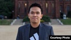 Irwan Saputra, lulusan S2 Manajemen Komunikasi di George Washington University, Washington, D.C. (dok: pribadi)