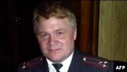 Полковник милиции Александр Астафьев