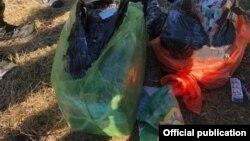 Azərbaycan-İran sərhədində götürülmüş narkotik