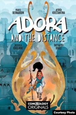 Adora and the Distance, komik karya Ariela Kristantina bersama penulis Marc Bernadine (dok: Ariela/ComiXology)