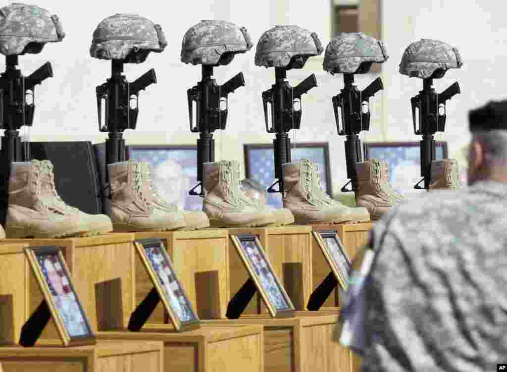 "Fort Hood Shooting - November 5, 2009 U.S. Army psychiatrist Major Nidal Hasan fatally shot 13 people and injured more than 30 others at the Fort Hood military base in Texas on November 5, 2009. Although the government did not label the attack an act of terrorism, many lawmakers at the time did, and a Senate report said the military should have been able to detect his radicalization to violent Islamic extremism. U.S. officials linked Hasan to the American radical Muslim cleric in Yemen Anwar al Awlaki and witnesses say Hasan shouted ""God is great"" in Arabic just before opening fire. A military jury sentenced him to death in 2013."