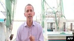 Američki predsednik Barak Obama snimio je redovno, subotnje obraćanje naciji u Luizijani, obećavajući pomoć pogodjenom području