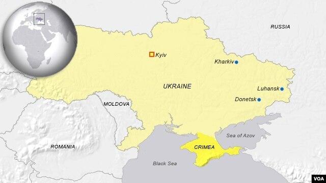 Kharkiv, Luhansk, Donesk, Ukraine