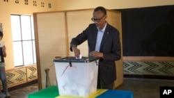 Rwanda-Presidential Election
