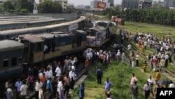متاثرہ ٹرینیں ڈھاکہ اور چٹاگانگ جارہی تھیں۔ (فائل فوٹو)