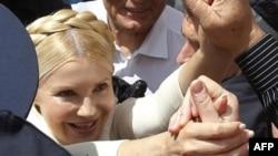 Юлія Тимошенко серед своїх прихильників
