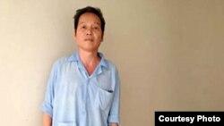 Ông Ðinh Ðăng Ðịnh bị ung thư chẳng bao lâu sau khi bị bắt nhưng không được tiếp cận với chăm sóc y tế cho đến khi nhập viện vì lâm bệnh nặng vào cuối năm ngoái (Ảnh: Danlambao)