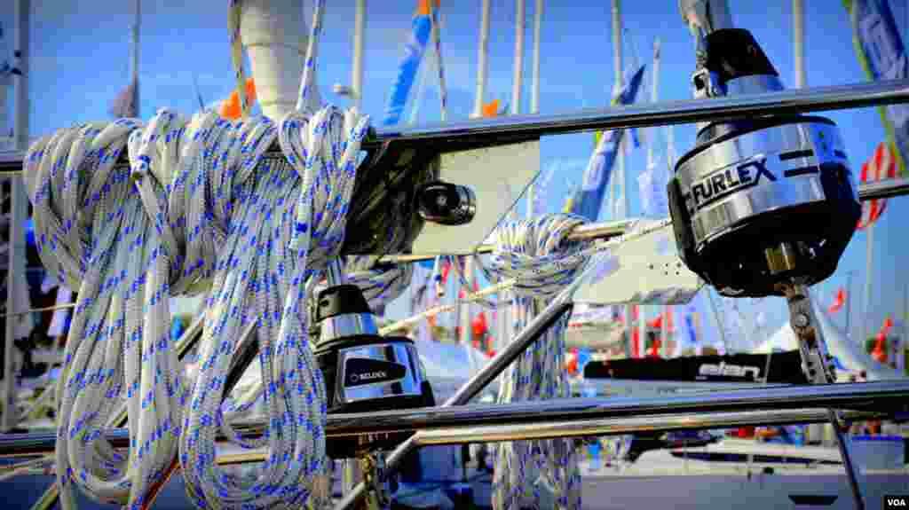 Оснастка современной яхты