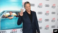 "FILE - Viggo Mortensen, a cast member in ""Green Book,"" attends the premiere of the film at the 2018 AFI Fest in Los Angeles, Nov. 9, 2018."