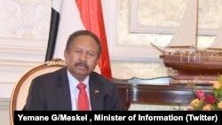 Le nouveau Premier ministre soudanais, Abdallah Hamdok en visite à Washington.