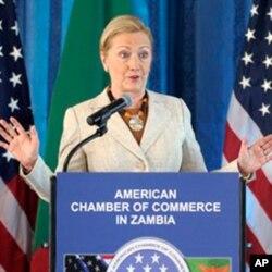Mme Clinton au forum de l'AGOA à Lusaka