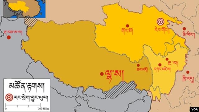 Rebkong Map